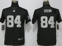 Women Nfl Oakland Raiders #84 Antonio Brown Black Vapor Untouchable Elite Player Jersey