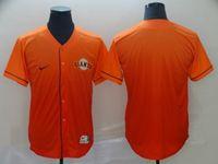 Mens Mlb San Francisco Giants Blank Orange Nike Drift Cool Base Jersey