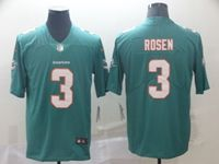 2019 New Mens Miami Dolphins #3 Josh Rosen Green Vapor Untouchable Limited Player Jersey