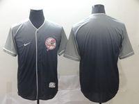 Mens New York Yankees Blank Blue Nike Drift Cool Base Jersey