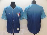 Mens Mlb Toronto Blue Jays Blank Blue Nike Drift Cool Base Jersey