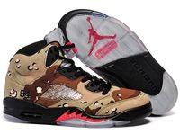 Mens And Women Air Jordan 5 Aj5 Sup Camo Basketball Shoes 1 Colour
