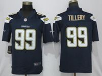 Mens Los Angeles Chargers #99 Jerry Tillery Navy Blue 2019 Vapor Untouchable Limited Jersey