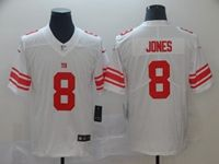 Mens Nfl New York Giants #8 Daniel Jones White Vapor Untouchable Limited Player Jersey