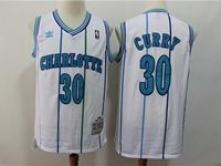 Mens Nba Charlotte Hornets #30 Dell Curry Green Mitchell≠ss 1992-93 Hardwood Classics Swingman Jersey