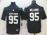 2019 Mens Nfl New York Jets #95 Williams Black Vapor Untouchable Limited Player Jersey