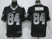 Mens Nfl Oakland Raiders #84 Antonio Brown Black Vapor Untouchable Drift Fashion Elite Jersey