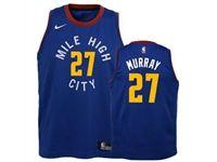 Mens Nba Nike Denver Nuggets #27 Jamal Murray Blue Nike Swingman Statement Jersey