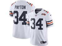 Women And Youth Nfl Chicago Bears #34 Walter Payton White 100th Season Retired Nike Vapor Untouchable Limited Jersey