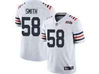 Mens Nfl Chicago Bears #58 Roquan Smith White 100th Season Retired Nike Vapor Untouchable Limited Jersey