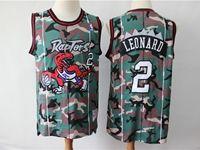 Mens Nba Toronto Raptors #2 Kawhi Leonard Camo Edition Jersey