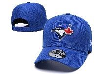 Mens Mlb Toronto Blue Jays Adjustable Hats New Era Blue