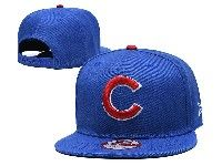 Mens Mlb Chicago Cubs Snapback Adjustable Hats New Era Blue