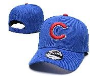 Mens Mlb Chicago Cubs Adjustable Hats New Era Blue