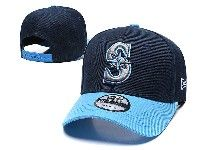 Mens Mlb Seattle Mariners Adjustable Hats New Era Blue