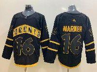 Mens Nhl Toronto Maple Leafs Leafs #16 Mitchell Marner Toronto Adidas Black Jersey