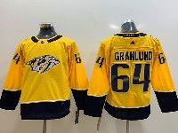 Youth Nhl Nashville Predators #64 Mikael Granlund Gold Adidas Jersey