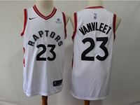 Mens 2018-19 Nba Toronto Raptors #23 Fred Vanvleet White Nike Swingman Player Jersey