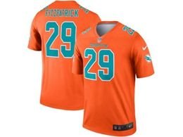 Mens Miami Dolphins #29 Minkah Fitzpatrick Gold Nike Inverted Legend Jersey