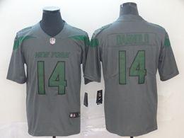 Mens Nfl New York Jets #14 Sam Darnold Gray Nike Inverted Legend Vapor Untouchable Limited Jersey