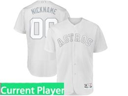 Mens Mlb Houston Astros White 2019 Players Weekend Current Player Cool Base Jersey