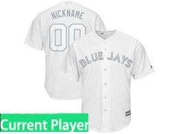 Mens Mlb Toronto Blue Jays White 2019 Players Weekend Current Player Cool Base Jersey