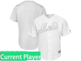 Mens Mlb New York Mets White 2019 Players Weekend Current Player Flex Base Jersey