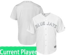 Mens Mlb Toronto Blue Jays White 2019 Players Weekend Current Player Flex Base Jersey