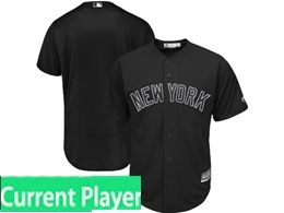 Mens Mlb New York Yankees Black 2019 Players Weekend Current Player Flex Base Jersey
