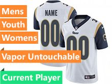 Mens Women Youth Nfl Los Angeles Rams White 2019 Super Bowl Liii Bound Vapor Untouchable Limited Current Player Jersey