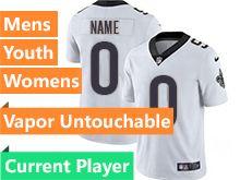 Mens Women Youth Nfl New Orleans Saints White Current Player Vapor Untouchable Limited Jersey