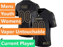 Mens Nfl Tampa Bay Buccaneers Current Player Black Gold Vapor Untouchable Limited Jersey