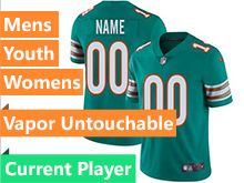 Mens Women Youth 2019 New Nfl Miami Dolphins Green Current Player Vapor Untouchable Limited Jersey