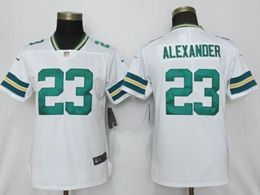 Mens Women Nfl Green Bay Packers #23 Alexander White Vapor Untouchable Limited Player Jersey