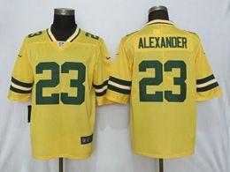 Mens Nfl Green Bay Packers #23 Alexander Gold Nike Inverted Legend Vapor Untouchable Limited Jersey