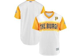 Mens Pittsburgh Pirates Blank White 2019 Mlb Little League Classic Cool Base Jersey