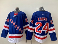 Mens Nhl New York Rangers #24 Kakko Blue Home Premier Adidas Jersey
