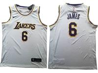 Mens New Nba Los Angeles Lakers #6 James Gray Nike Swingman Jersey