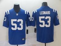 Mens Nfl Indianapolis Colts #53 Darius Leonard Blue Vapor Untouchable Limited Jersey