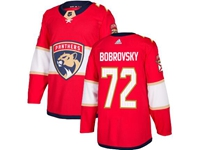 Mens Nhl Florida Panthers #72 Sergei Bobrovsky Red Adidas Jersey