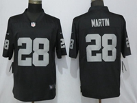 Mens Nfl Oakland Raiders #28 Martin Black Vapor Untouchable Limited Jersey