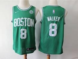 Mens 2019 New Nba Boston Celtics #8 Kemba Walker Green Swingman Jersey