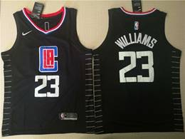 Mens Nba Los Angeles Clippers #23 Lou Williams Black Statement Edition Swingman Jersey