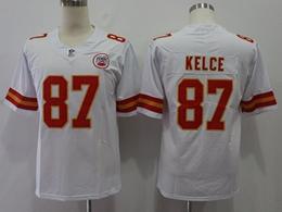 Mens Nfl Kansas City Chiefs #87 Travis Kelce White Vapor Untouchable Limited Player Jersey