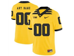 Mens 2019 New Ncaa Nfl Iowa Hawkeyes Yellow Current Player Jersey