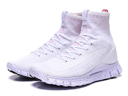 Mens And Women Nike Classic Nets Running Shoes White Color