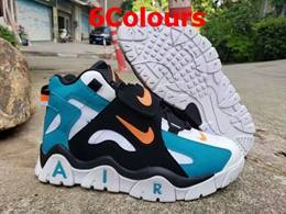Mens And Women Nike High Air More Uptempo Basketball Shoes 6 Colours