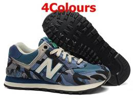 Mens And Women New Balance Nb574 Camo Running Shoes 4 Colours