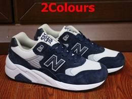 Mens And Women New Balance Nb585 Pig Eight Leather Running Shoes 2 Colours